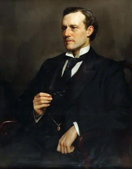 Сэр Уиллоуби Дикинсон (1859–1943), политик. Джон Кольер