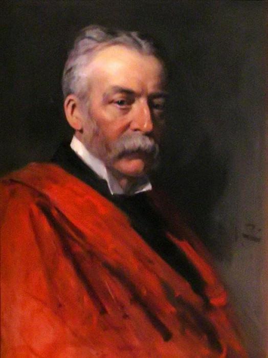 Sir Richard Jebb (1841–1905). John Collier