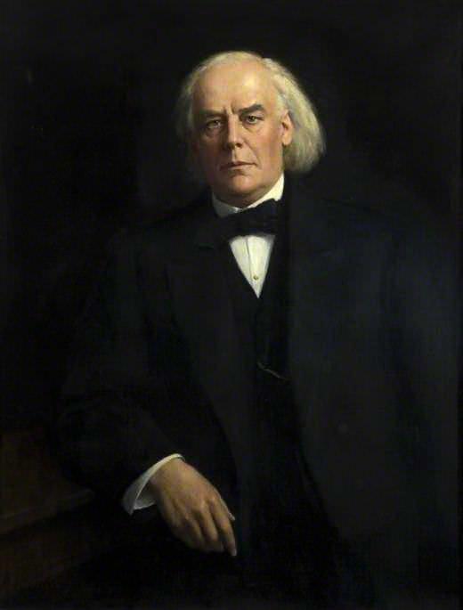 Charles Bradlaugh (1833–1891). John Collier