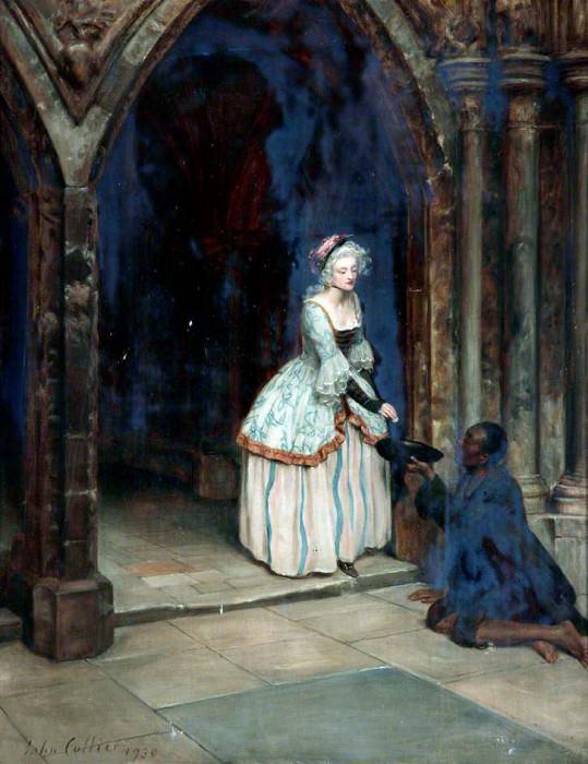 The Beggar Man. John Collier