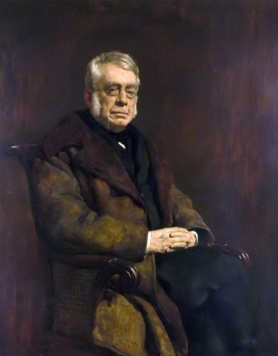 Sir George Biddell Airy (1801–1892). John Collier