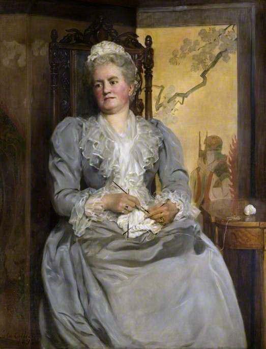 Lady Laing (1831–1913). John Collier