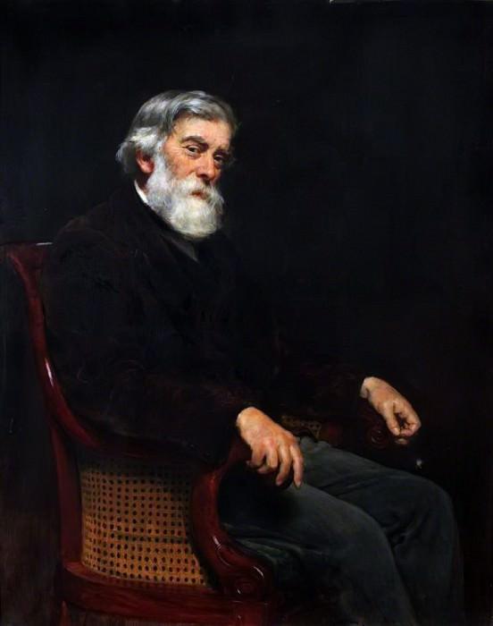 Professor Alexander Williamson (1824–1904). John Collier