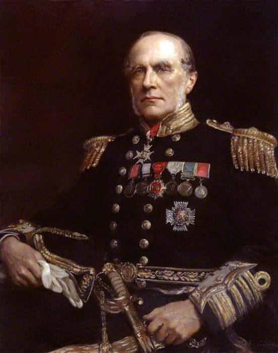 Sir Edward Augustus Inglefield. John Collier