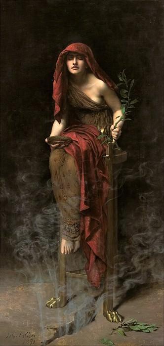 Priestess of Delphi. John Collier