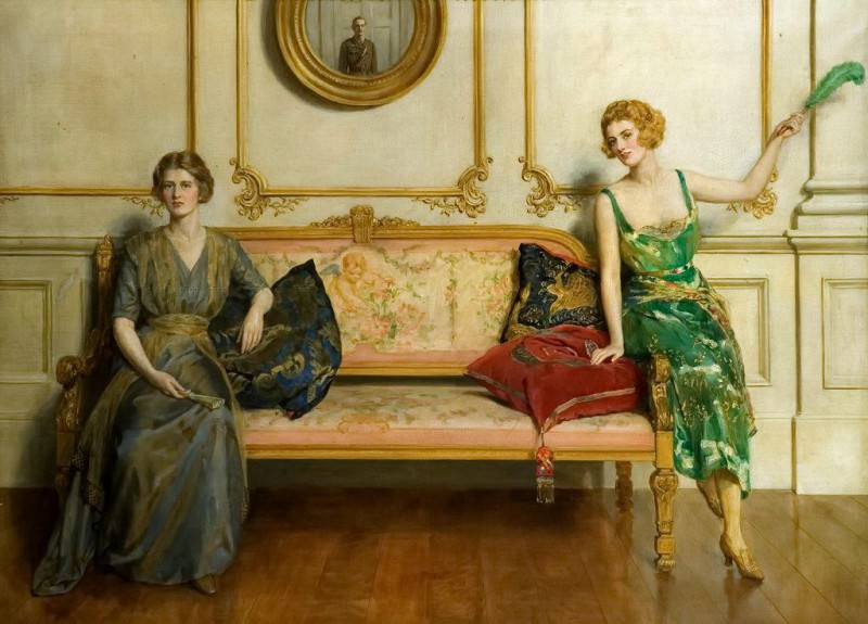 Sacred and Profane Love. John Collier