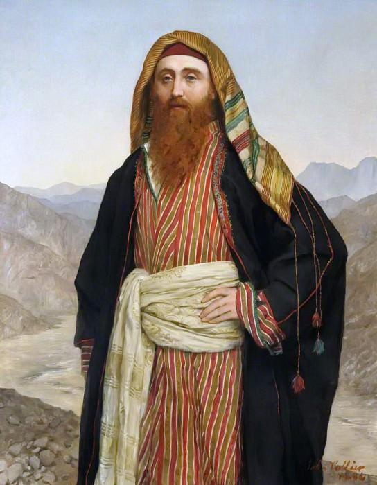 Эдвард Генри Палмер (1840–1882). Джон Кольер