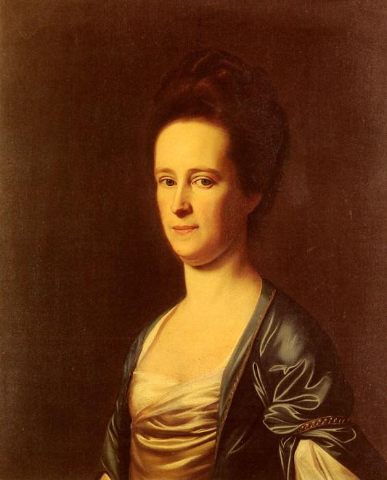 Mrs Elizabeth Coffin Amory. John Singleton Copley