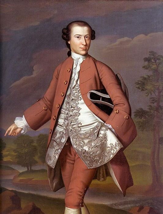 THEODORE ATKINSON, 1757-58, OIL ON CANVAS. John Singleton Copley
