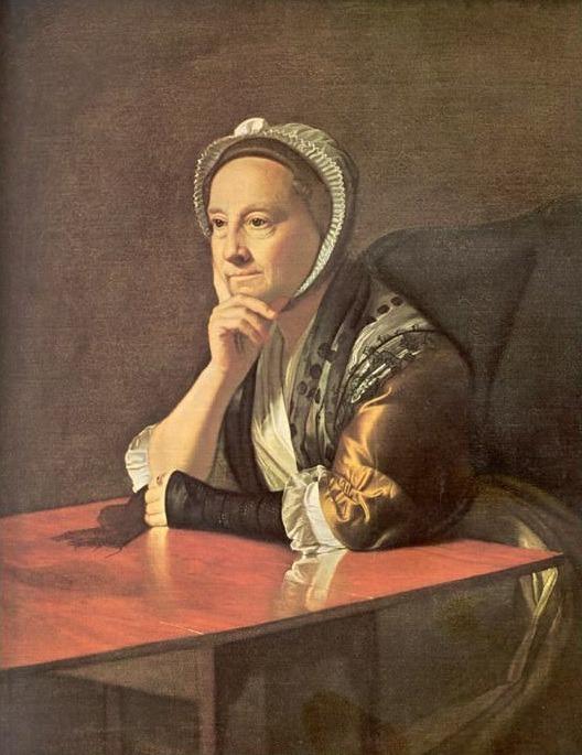 Miss Humphrey Devereux (1771). John Singleton Copley