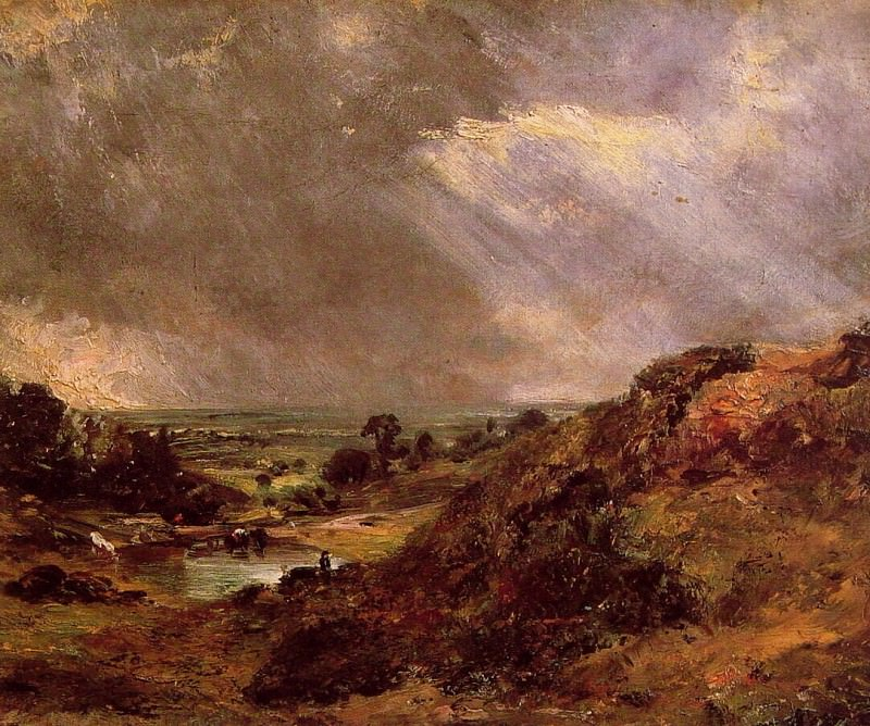 Branch Hill Pond Hampstead. John Constable