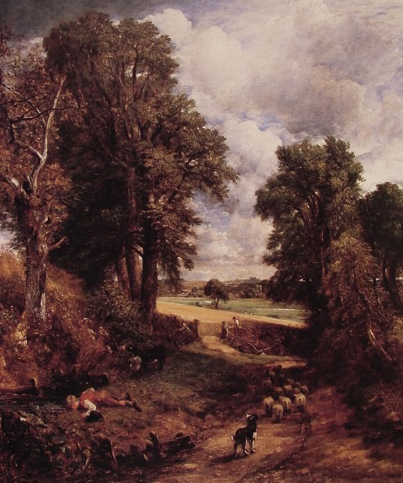 The Cornfield. John Constable