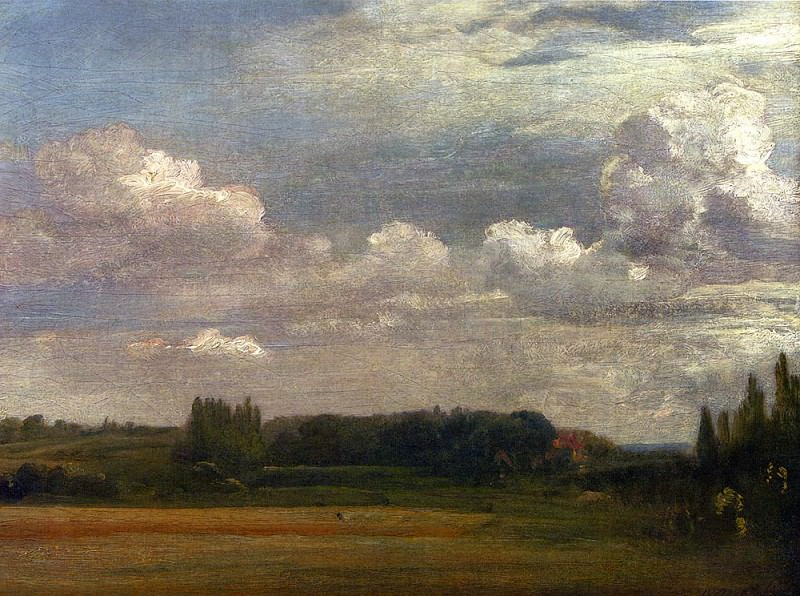 View Towards The Rectory From East Bergholt House. John Constable