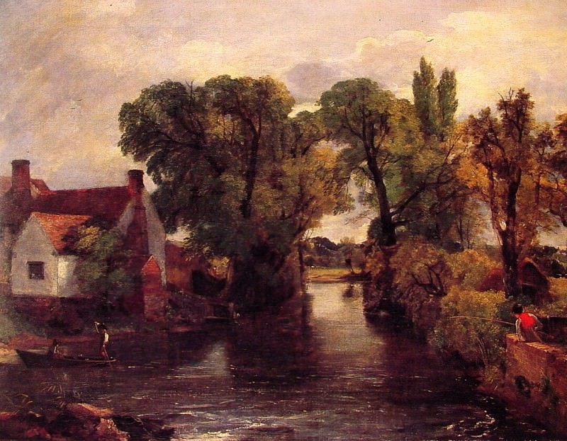 The Mill Stream. John Constable