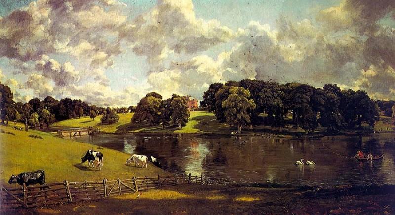 WIVENHOE PARK, ESSEX, 1816, OIL ON CANVAS. John Constable