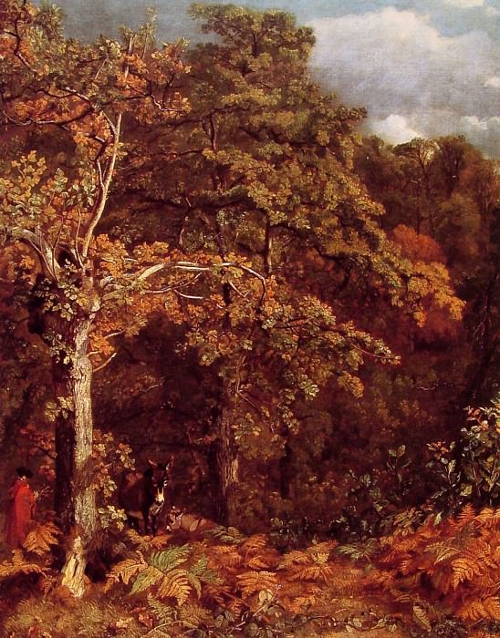 Wooded Landscape. John Constable