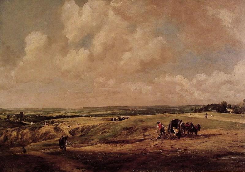 Hampstead Heath. John Constable