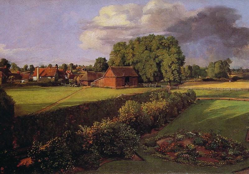 Golding Constables Flower Garden. John Constable