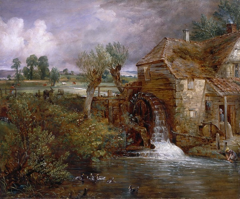 Parham Mill, Gillingham. John Constable