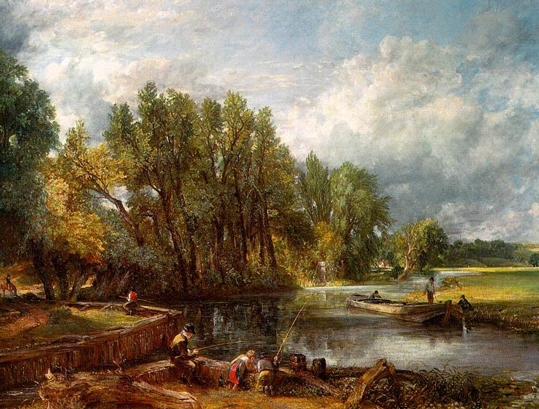 STRATFORD MILL, 1820, OIL ON CANVAS. John Constable