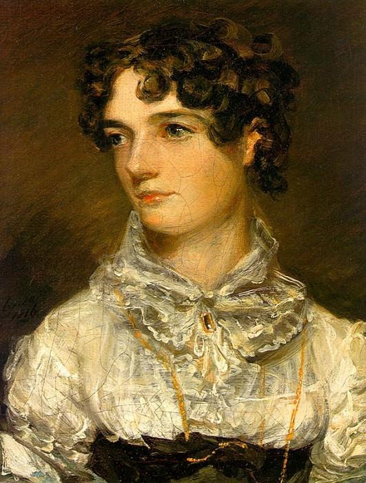 MARIA BICKNELL (MRS. JOHN CONSTABLE), 1816. John Constable