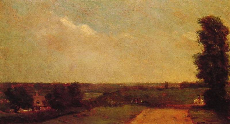 View towards Dedham. John Constable