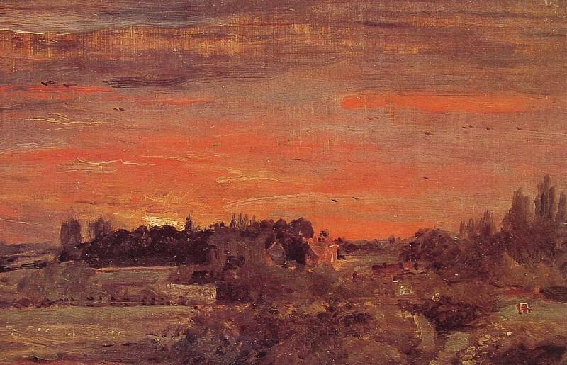 East Bergholt Rectory. John Constable