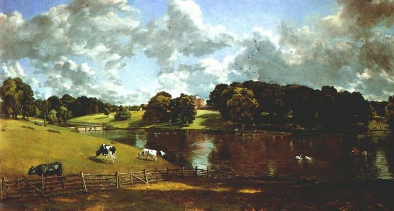 wivenhoe park 1816. John Constable