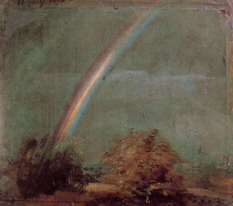 1812 Landscape with a Double Rainbow. John Constable