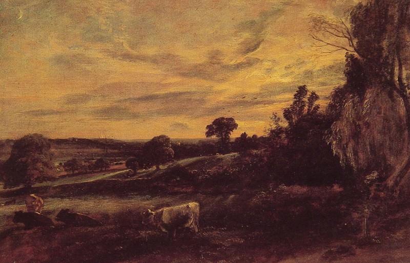 Вечерний пейзаж. Джон Констебл