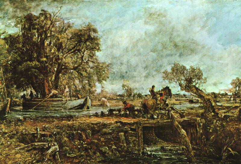 leaping-horse. John Constable