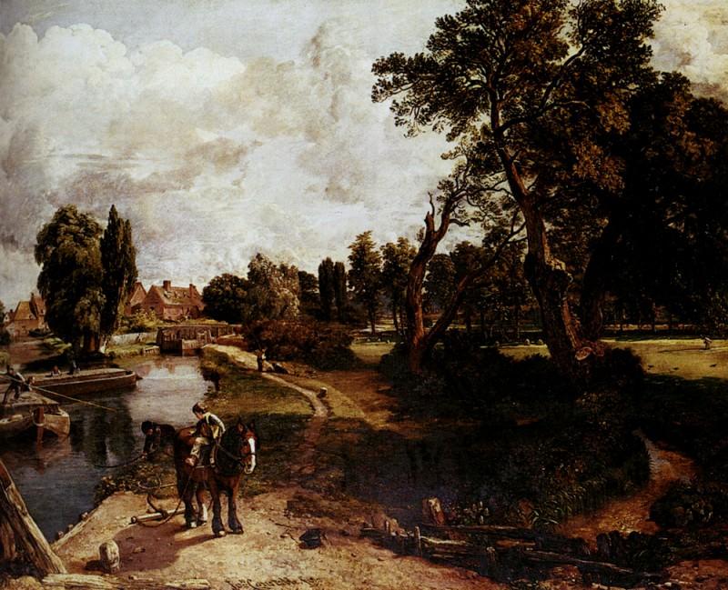 Constable John Flatford Mill. John Constable