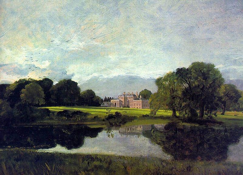 MALVERN HALL, 1809, OIL ON CANVAS. John Constable