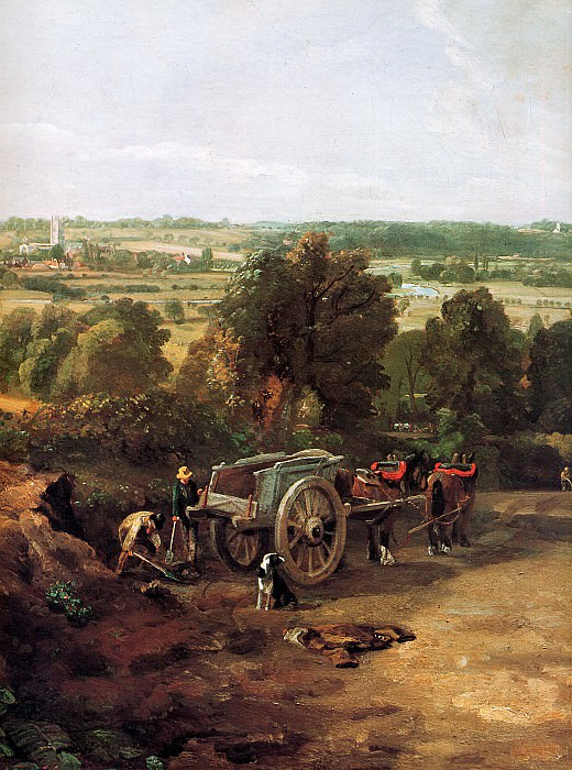 View on Dedham. John Constable
