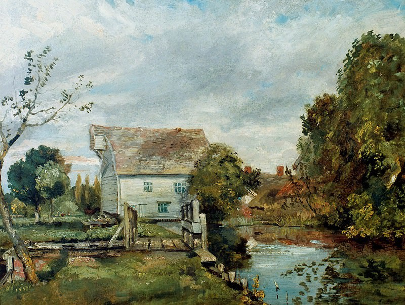 Mill by the River Stour. John Constable