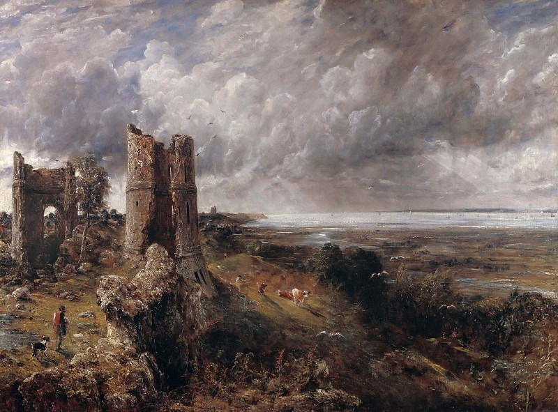 Hadleigh Castle, The Mouth of the Thames--Morning after a Stormy Night. John Constable