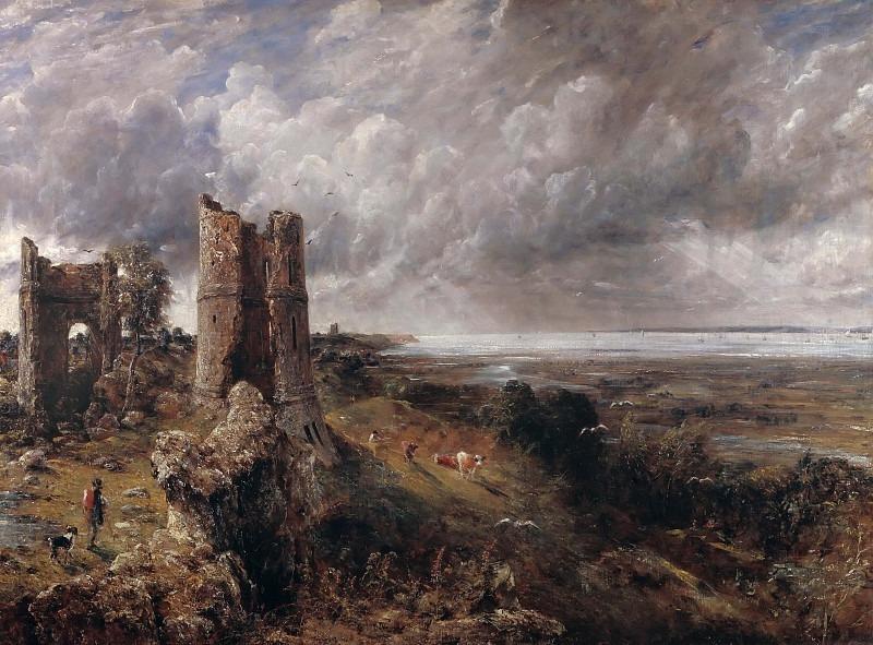 Hadleigh Castle. John Constable