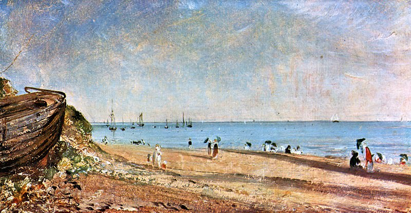 Brighton beach. John Constable