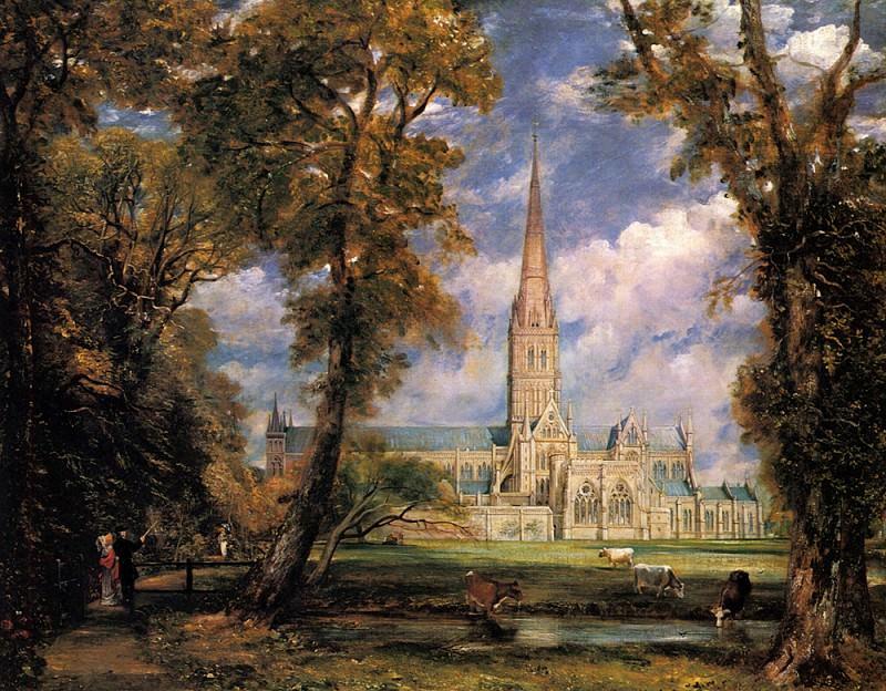 Salisbury Cathedral. John Constable