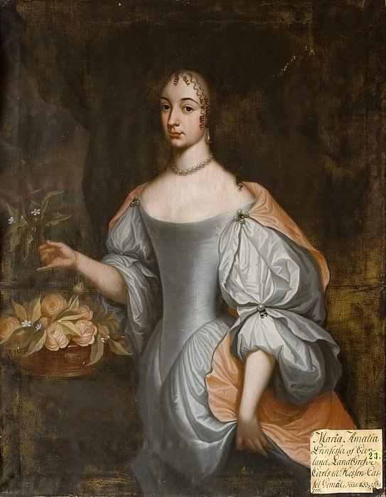 Maria Amalia (1653-1711). Johan N Cramer