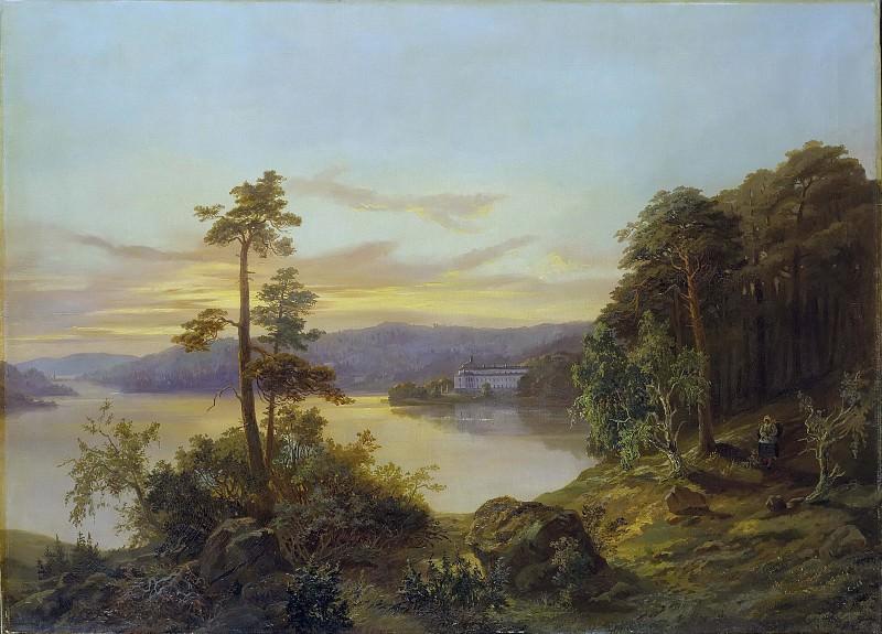 Вид Ульриксальда. Карл XV (Король Швеции)