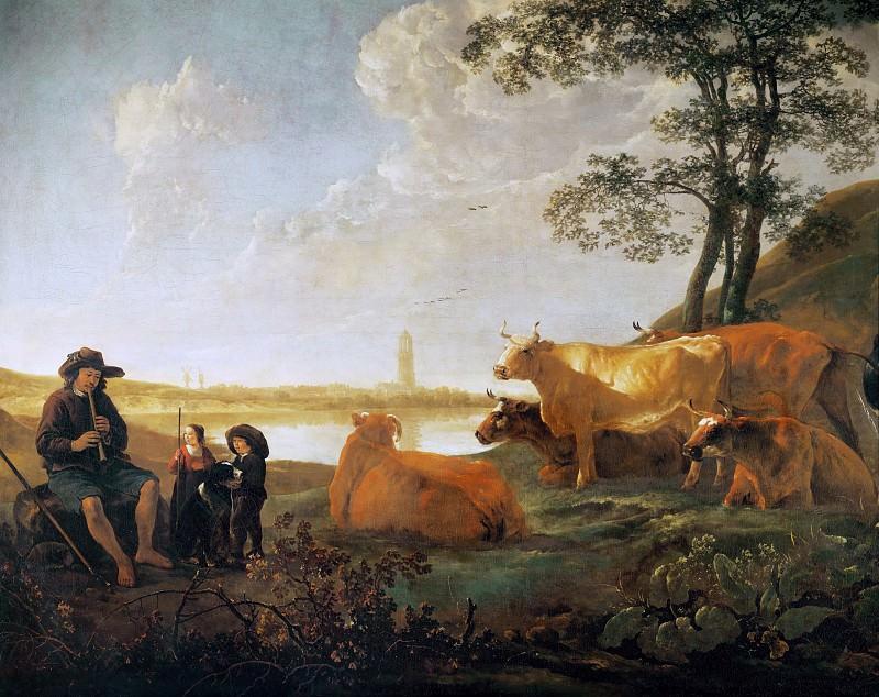 Landscape Near Rhenen. Aelbert Cuyp