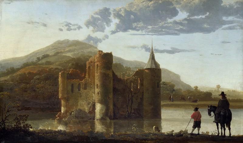 Пейзаж с замком Берген. Aelbert Cuyp