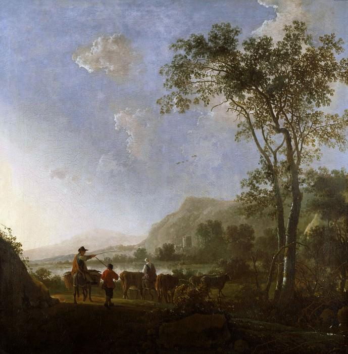 Пейзаж с пастухами. Альберт Кёйп