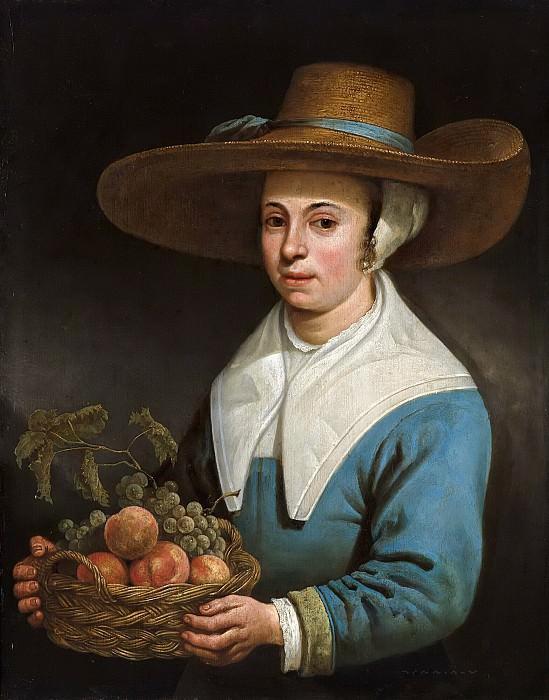 Девушка в соломенной шляпе. Aelbert Cuyp