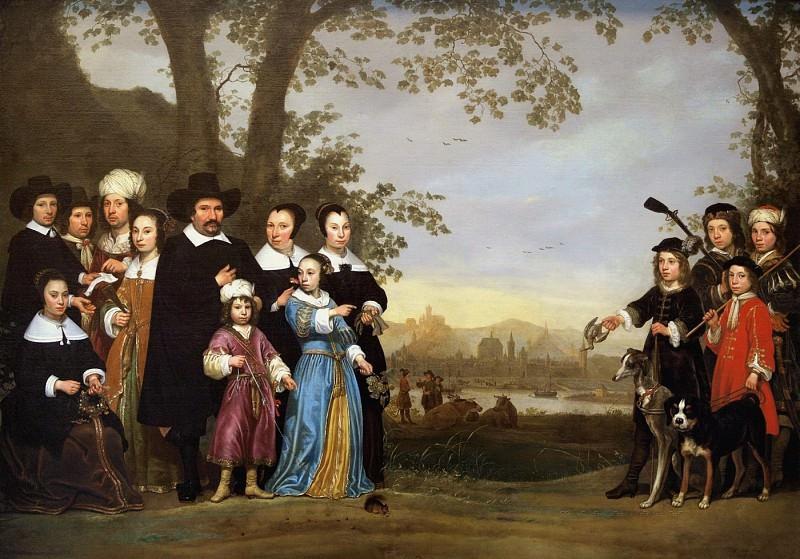 Семейный портрет. Альберт Кёйп
