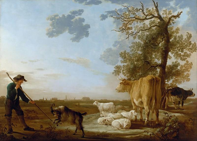 Пейзаж со стадом. Альберт Кёйп