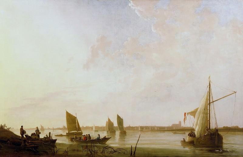 Рассвет на реке. Альберт Кёйп