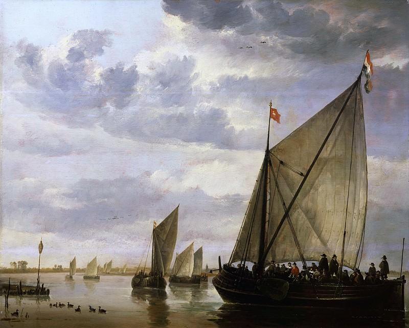 Лодки на реке. Aelbert Cuyp