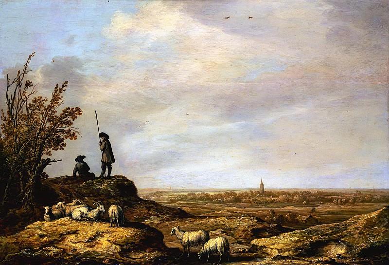 Панорамный пейзаж с видом на Бевервейк. Альберт Кёйп